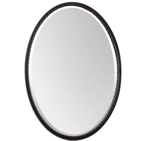 oil rubbed bronze bathroom mirrors oval bathroom mirrors oil rubbed bronze home design ideas
