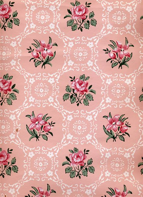 vintage style floral background with pink blooms royalty vintage wallpaper vector pinterest vintage