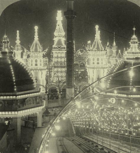 coney island nights of lights proli depp illumin 225 riuma coney island at night 1904