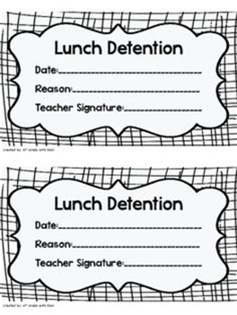 detention slip template 1000 ideas about detention slips on