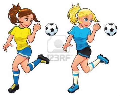 hombre de dibujos animados jugar futbol vector de stock imagenes animadas de jugadores de futbol