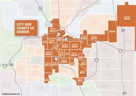 City Of Denver Property Records City And County Of Denver Zip Code Map