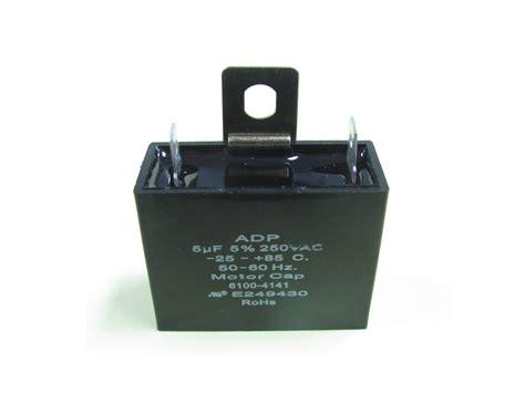 motor run capacitor power supply adp250a505jl capacitor industries