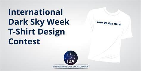 design contest international international dark sky week t shirt design contest