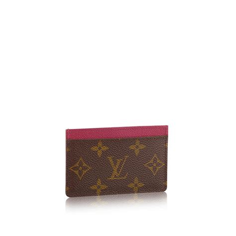Louis Vuitton Gift Card - card holder monogram canvas small leather goods louis vuitton