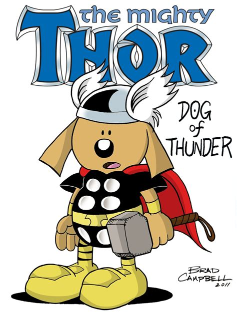 thor and the dogs books by brad cbell september 2011
