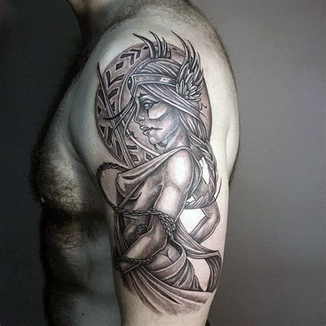 valkyrie tattoo designs 60 valkyrie designs for norse mythology ink ideas