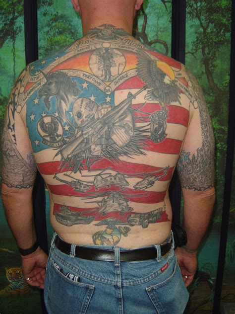 tattoo military army tattoos designs ideas and meaning