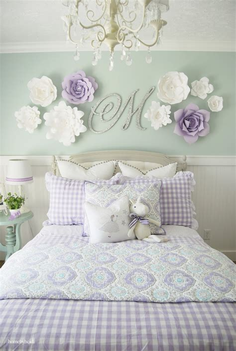 Girls Bedroom Decor Ideas Home By Heidi Purple Amp Turquoise Little Girls Room