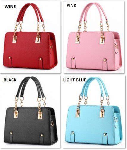 Tas Wanita Handbag Selempang Korea Import 21694sn Khaki jual beli hnshoulder tas bag import impor wanita
