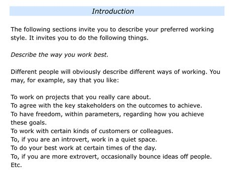 S Is For Inviting Team Members To Share Their Preferred Working Styles The Positive Encourager Ways Of Working Template
