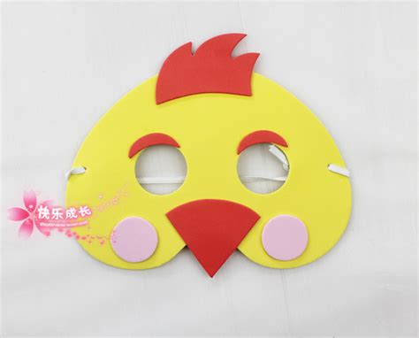printable chick mask chicken mask printable google search preschool crafts