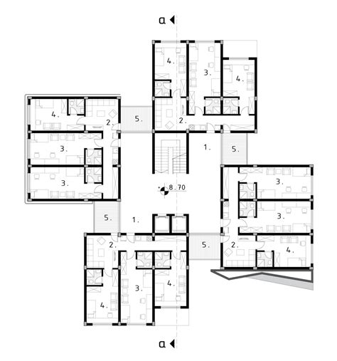 Ucla Floor Plans aeccafe student dormitory in ni serbia by milan stevanovic