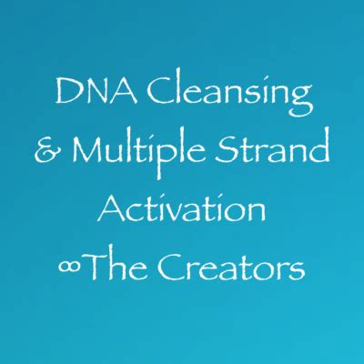 Dna Detox Cleanse by Dna Cleansing Strand Activation Creators Activate Cleanse