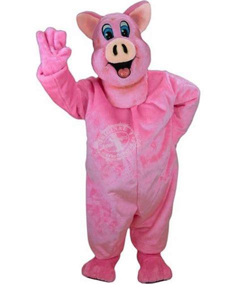 schweine kostueme maskottchen schwein guenstig kaufen oder
