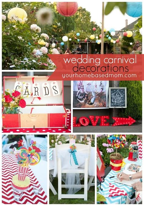 the wedding carnival decorations