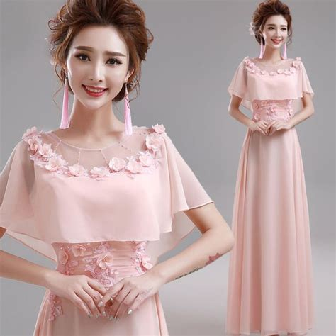 Dress Flower Brokat Murah 25 ide terbaik tentang gaun prom panjang di