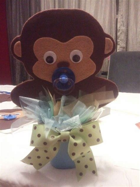 monkey theme baby shower centerpiece monkey baby shower