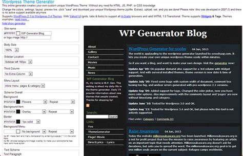 theme generator blog layout f 252 r den eigenen blog gestalten wordpress theme