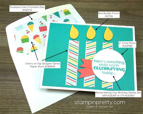 card supplies list birthday cards on stin up fish and