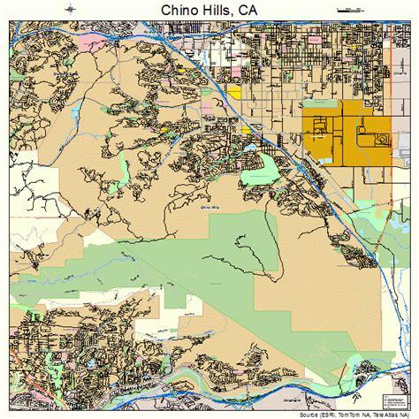 california map chino chino california map 0613214