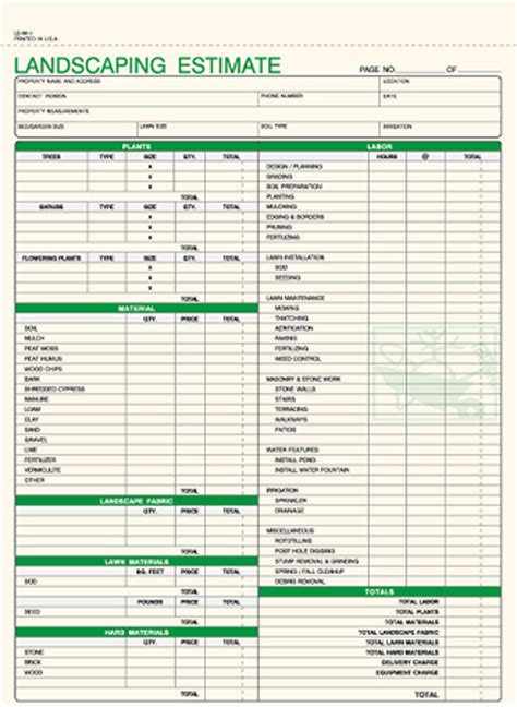 landscaping invoice template excel simple invoice template for excel
