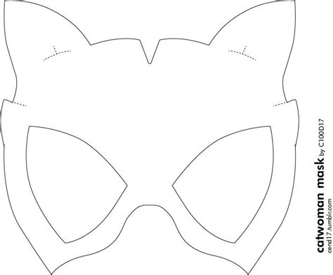 batgirl mask template diy batgirl mask template