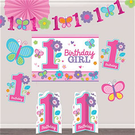 first birthday themes uk sweet girl 1st birthday party supplies party delights