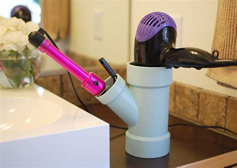 Diy Pvc Hair Dryer Holder 14 awesome pvc projects for the home decorating your