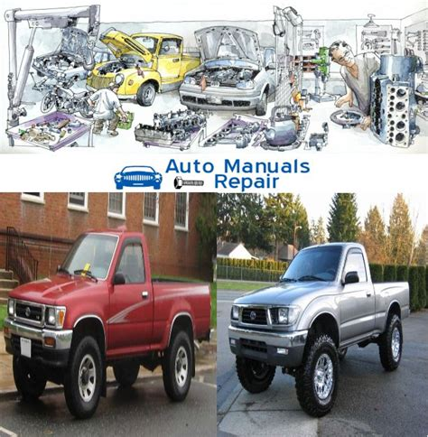 car maintenance manuals 1997 toyota tacoma electronic toll collection 13 best toyota service repair manuals images on repair manuals nissan and pdf