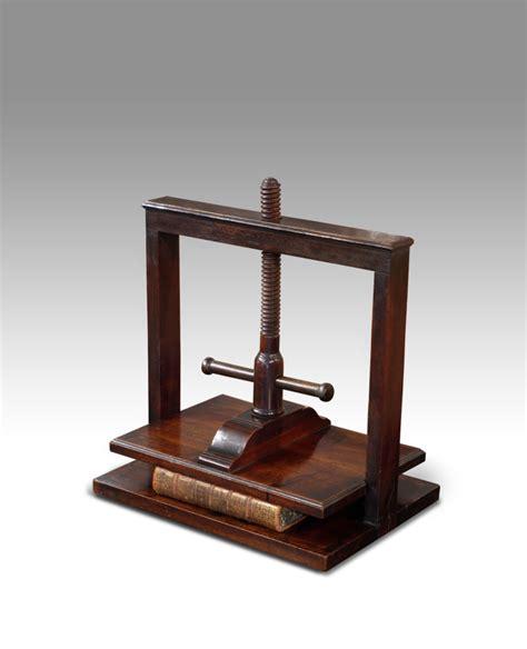 Antique L by Antique Book Press Mahogany Book Press Book