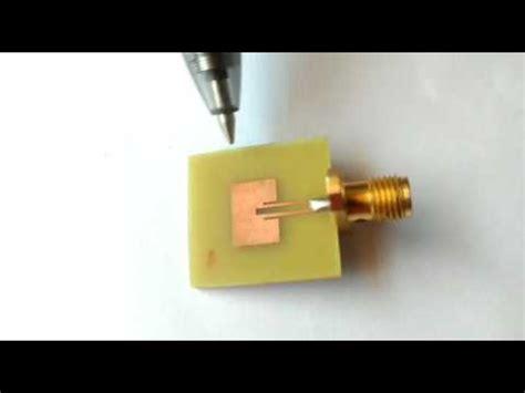 small microstrip patch antenna  future  application