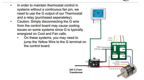 should i run my furnace fan continuously how to defeat r g circuit on carrier 58 mxa furnace so