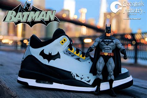 justice league series sneaker customs sneakerfiles