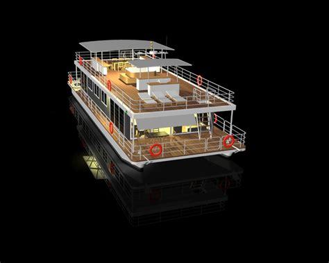 catamaran houseboat design respect river houseboat modus maris catamarans