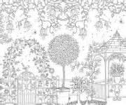 coloriage jardin gratuit 224 imprimer