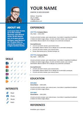 cara mudah membuat cv kreatif template percuma cara membuat resume mudah cari panduan