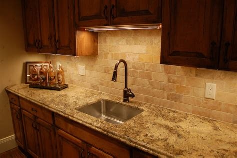 types of tile backsplash home design