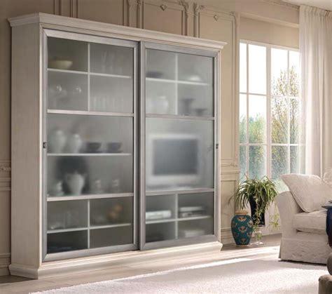 vetrina soggiorno soggiorno vetrina ante scorrevoli componibile df mobili