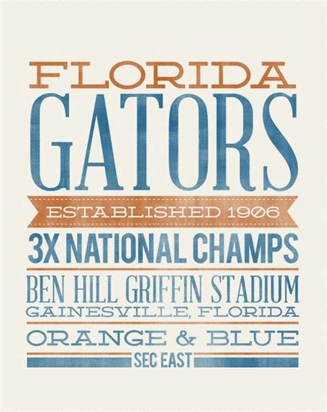 gifts for florida gator fans florida gators rustic typography the perfect christmas