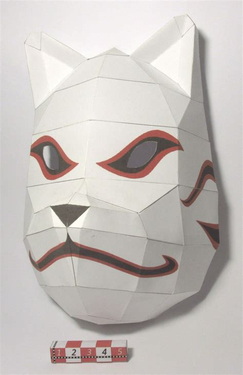 Kakashi Anbu Mask Papercraft - mascara anbu do kakashi by rafaeltacques on