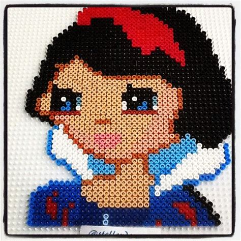 white perler 100 best images about crafts snow white on