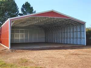 Metal Carports And Barns Tractor Shed Tractor Sheds