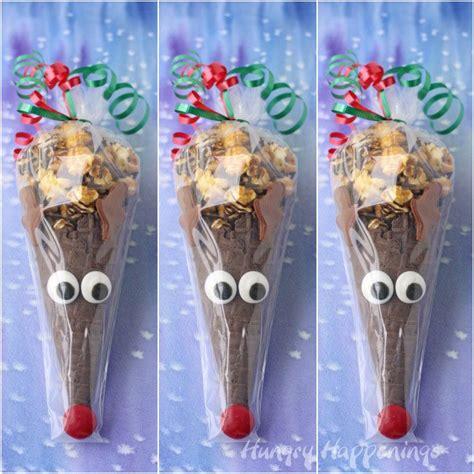 rudolph cones make fun christmas treats hungry happenings