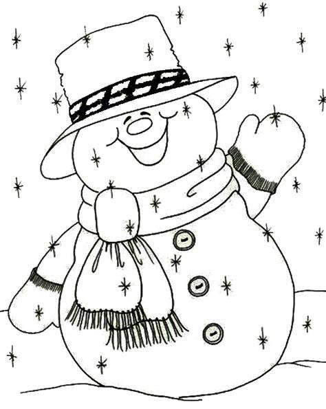 imagenes de navidad para dibujar en tela hombre de las nieves para colorear dibujos de navidad
