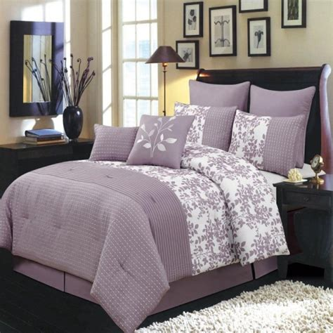 light purple bedding gray and purple bedding product choices homesfeed