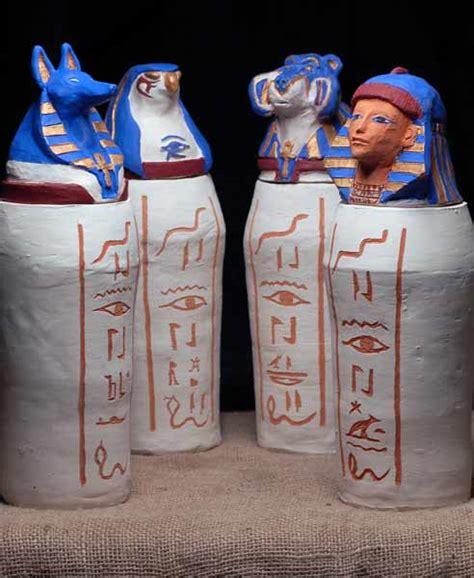 vasi canopi egiziani il grande stregone