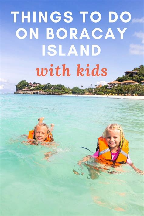 most popular things for kids best things to do in boracay island with kids