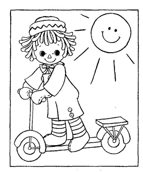 coloring book pages raggedy 1401 best images about coloring pages on