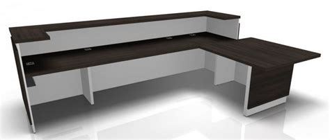 metal reception desk metal reception desk majesto 4 office reality